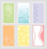Cartão vertical fotografia de stock