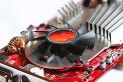 Cartão video do computador Fotos de Stock