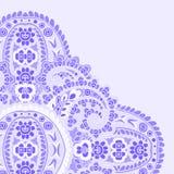 Cartão violeta Imagem de Stock Royalty Free