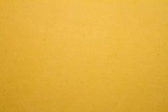 Cartón amarillo Imagen de archivo
