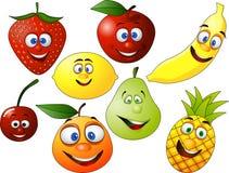 Cartón de la fruta Foto de archivo libre de regalías