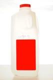 Cartón de la leche Fotografía de archivo