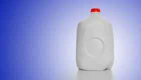 Cartón de la leche del galón Fotos de archivo libres de regalías