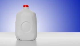 Cartón de la leche del galón Fotos de archivo