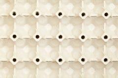 Cartón del huevo de la cartulina Imágenes de archivo libres de regalías