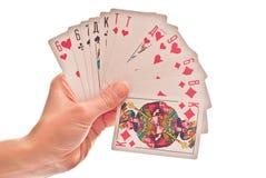 Cartões à disposicão Fotos de Stock Royalty Free