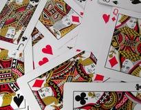 Cartões Fotografia de Stock