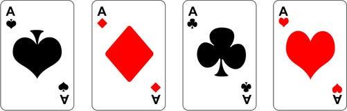 Cartões Ilustração Royalty Free