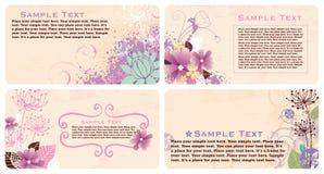 Cartões Fotos de Stock Royalty Free