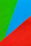 Cartões coloridos Foto de Stock Royalty Free