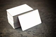 Cartões com cantos arredondados Fotos de Stock Royalty Free