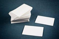 Cartões com cantos arredondados Imagem de Stock