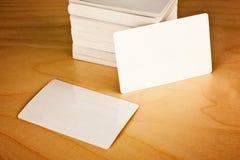 Cartões com cantos arredondados Foto de Stock