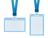Cartões da identificação Foto de Stock
