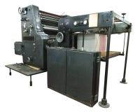 Cartões da máquina e da cópia da perfuração Foto de Stock Royalty Free