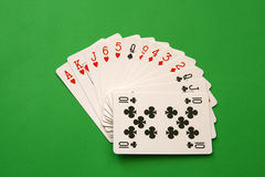 Cartões da ponte Imagens de Stock
