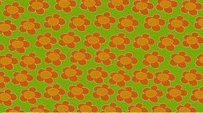 Cartões das telas com flores Imagens de Stock Royalty Free