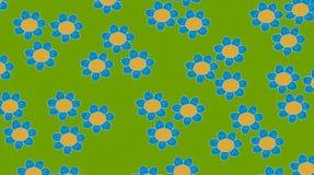 Cartões das telas com flores Imagem de Stock Royalty Free