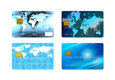 Cartões de crédito Fotos de Stock Royalty Free