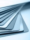Cartões de crédito Imagem de Stock