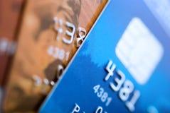 Cartões de crédito Foto de Stock