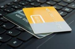 Cartões de crédito imagem de stock royalty free