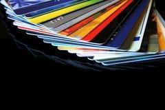 Cartões de crédito Fotos de Stock