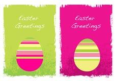 Cartões de Easter Grunge Fotografia de Stock