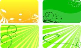 Cartões de Eco Fotos de Stock