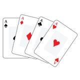 Cartões de jogo 1 Fotografia de Stock Royalty Free