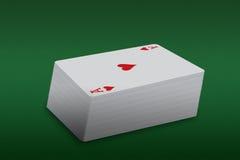 Cartões de jogo ilustração stock
