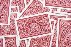 Cartões de jogo Fotos de Stock