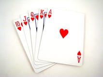 Cartões de jogo Foto de Stock