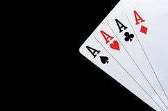 Cartões de jogo Foto de Stock Royalty Free