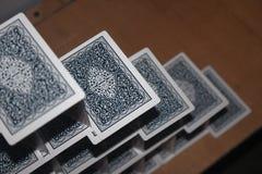 Cartões de jogo criativos Fotos de Stock