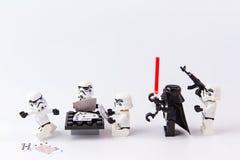 Cartões de jogo dos Star Wars de Lego Imagens de Stock Royalty Free