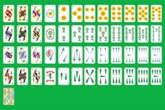 Cartões de jogo espanhóis ilustração stock