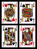 Cartões de jogo - jaques Imagens de Stock Royalty Free