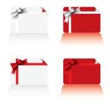 Cartões de Natal ilustração royalty free