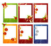 Cartões de Natal Fotografia de Stock