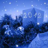Cartões de Natal 2012 Foto de Stock Royalty Free