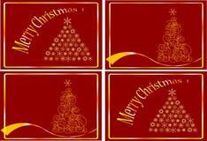 Cartões de NATAL Imagem de Stock