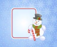 Cartões de Natal azuis ilustração stock