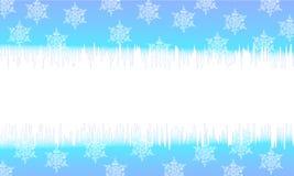 Cartões de Natal azuis Fotos de Stock Royalty Free