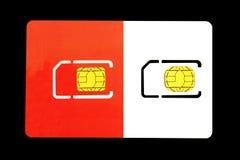 Cartões de SIM Foto de Stock