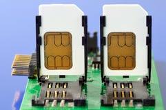 Cartões de SIM Imagens de Stock Royalty Free