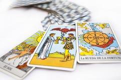 Cartões de Tarot Foto de Stock Royalty Free
