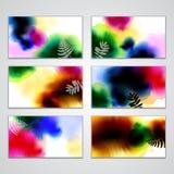 Cartões de visita Imagem de Stock Royalty Free