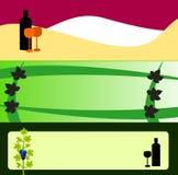 Cartões de Wineroom Imagens de Stock