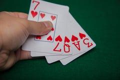 Cartões do amor disponivéis fotos de stock royalty free